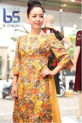 Đầm cách tân vải Casmia Ấn Độ
